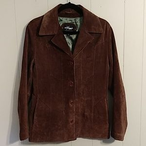 Wilson's Maxima Leather Blazer Jacket